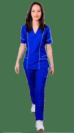 uniformes medicos para salud